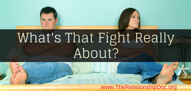 What's That Fight Really About-